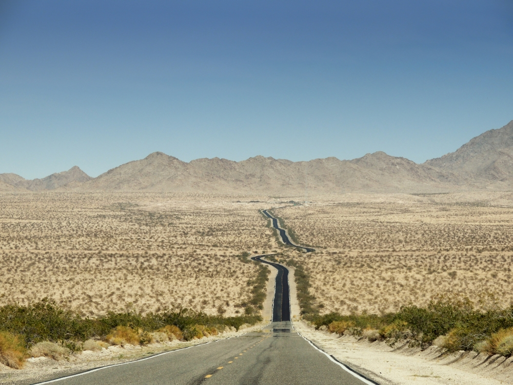Straße in Arizona